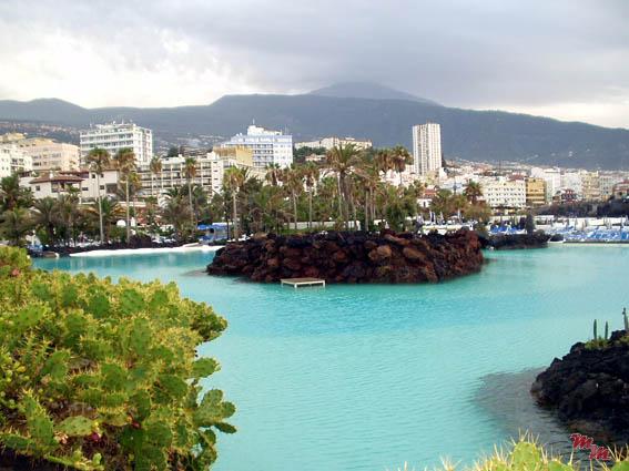 Tenerife for Piscinas martianez